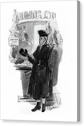 New Yorker December 20th, 1941 Canvas Print