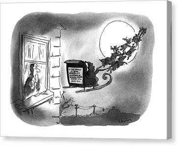 New Yorker December 26th, 1994 Canvas Print