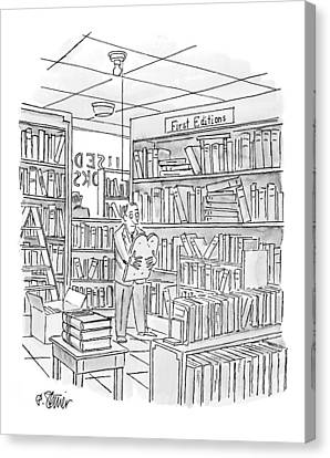 New Yorker December 27th, 1999 Canvas Print