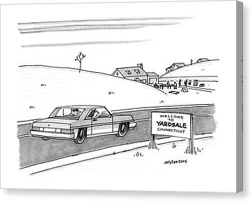 New Yorker December 28th, 1987 Canvas Print