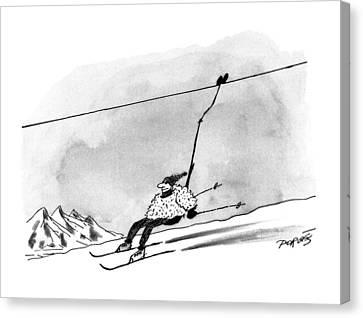 New Yorker December 28th, 1992 Canvas Print