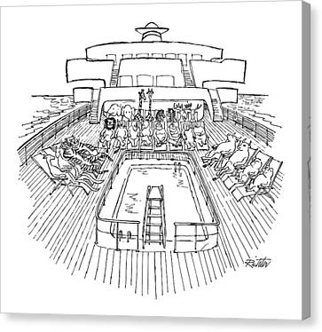 New Yorker December 31st, 1979 Canvas Print