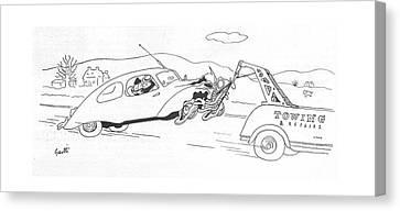 New Yorker December 4th, 1943 Canvas Print
