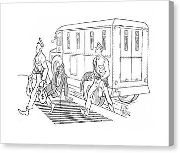 New Yorker December 6th, 1941 Canvas Print