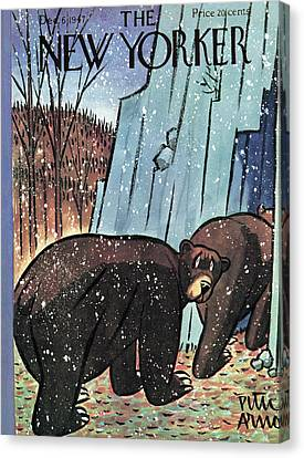 New Yorker December 6th, 1947 Canvas Print