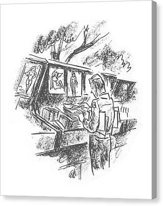 New Yorker December 9th, 1944 Canvas Print