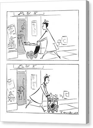 New Yorker February 12th, 1944 Canvas Print