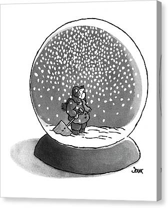 New Yorker February 14th, 1977 Canvas Print