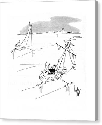 New Yorker February 15th, 1941 Canvas Print