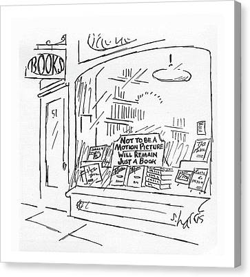 New Yorker February 15th, 1982 Canvas Print by Sidney Harris