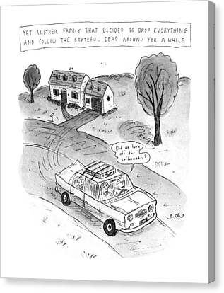 New Yorker February 3rd, 1992 Canvas Print by Roz Chast