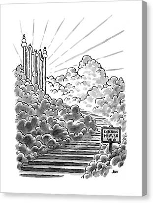 New Yorker February 3rd, 1997 Canvas Print