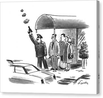 New Yorker January 24th, 1994 Canvas Print by Mike Twohy