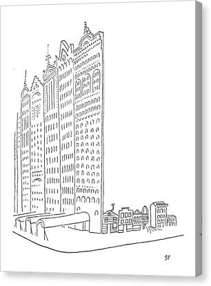 New Yorker January 26th, 1952 Canvas Print