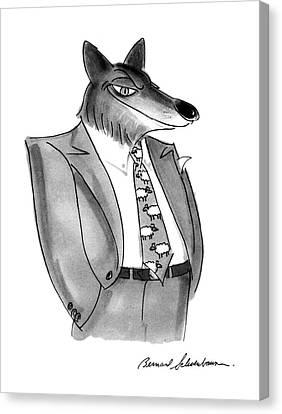 New Yorker January 27th, 1992 Canvas Print by Bernard Schoenbaum