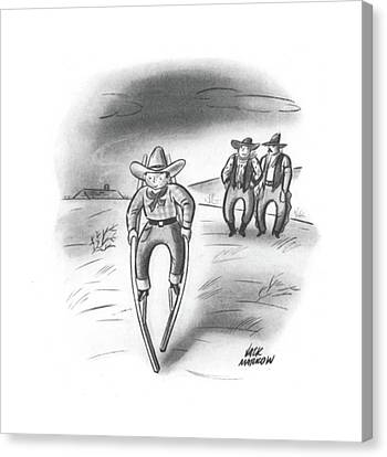 New Yorker January 2nd, 1943 Canvas Print