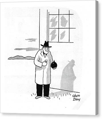Thugs Canvas Print - New Yorker January 4th, 1941 by Chon Day