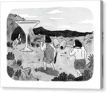 New Yorker January 7th, 1991 Canvas Print