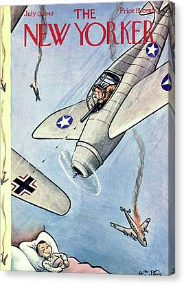 New Yorker July 17th, 1943 Canvas Print