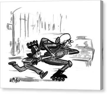 New Yorker July 18th, 1994 Canvas Print by Warren Miller