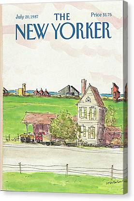 New Yorker July 20th, 1987 Canvas Print