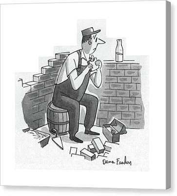 New Yorker July 21st, 1956 Canvas Print