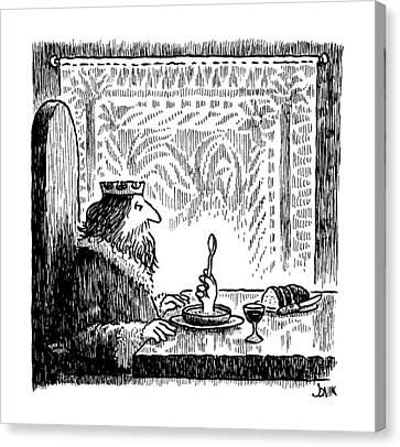 New Yorker July 22nd, 1991 Canvas Print by John Jonik