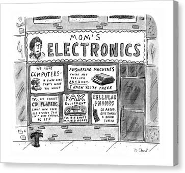 Electronic Canvas Print - New Yorker July 22nd, 1996 by Roz Chast
