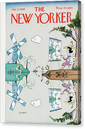 New Yorker July 23rd, 1966 Canvas Print