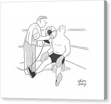 New Yorker July 24th, 1943 Canvas Print by Chon Day
