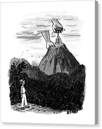 New Yorker July 24th, 1995 Canvas Print by Warren Miller
