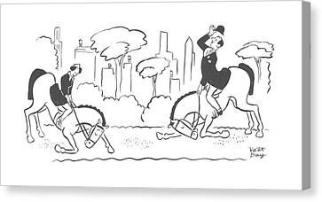 New Yorker July 27th, 1940 Canvas Print