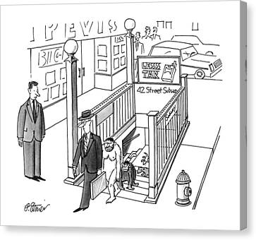 New Yorker July 30th, 1990 Canvas Print