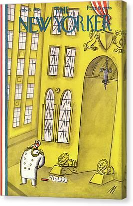 New Yorker July 5th, 1930 Canvas Print by Julian de Miskey