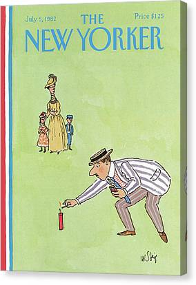 New Yorker July 5th, 1982 Canvas Print