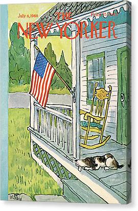 New Yorker July 6th, 1968 Canvas Print