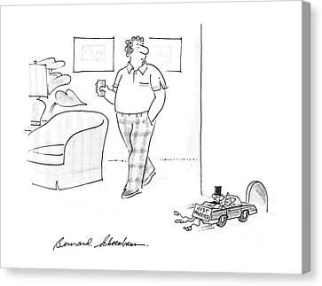 New Yorker July 6th, 1987 Canvas Print by Bernard Schoenbaum