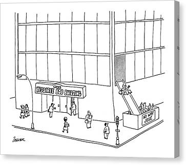 New Yorker July 8th, 1991 Canvas Print
