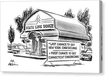 New Yorker June 11th, 1990 Canvas Print