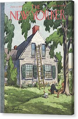 New Yorker June 12th, 1948 Canvas Print