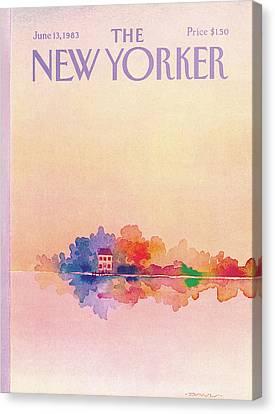 New Yorker June 13th, 1983 Canvas Print by Susan Davis