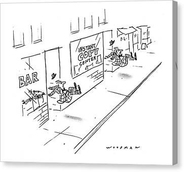 New Yorker June 13th, 1994 Canvas Print by Bill Woodma