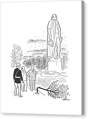 Apple Tree Canvas Print - New Yorker June 15th, 1940 by  Alain
