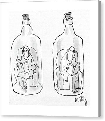 New Yorker June 15th, 1968 Canvas Print by William Steig