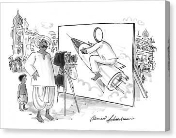 New Yorker June 15th, 1998 Canvas Print by Bernard Schoenbaum