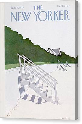New Yorker June 18th, 1979 Canvas Print by Gretchen Dow Simpson