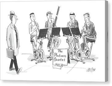 New Yorker June 1st, 1987 Canvas Print by Warren Miller