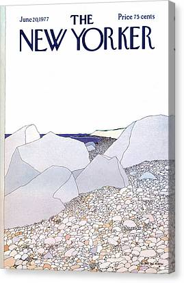 New Yorker June 20th, 1977 Canvas Print by Gretchen Dow Simpson