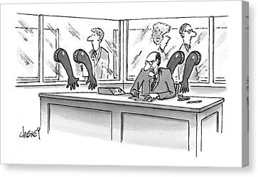 New Yorker June 21st, 1999 Canvas Print