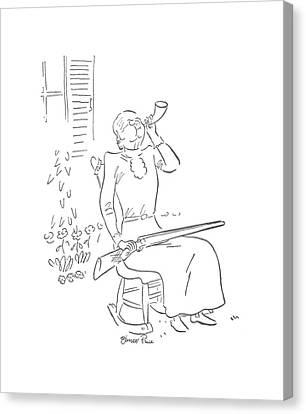 New Yorker June 22nd, 1940 Canvas Print by Garrett Price